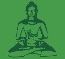 Buddha (Green Print)