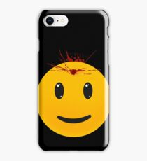 When The Words Are Like Bullets And They Break Through Your Skin iPhone Case/Skin