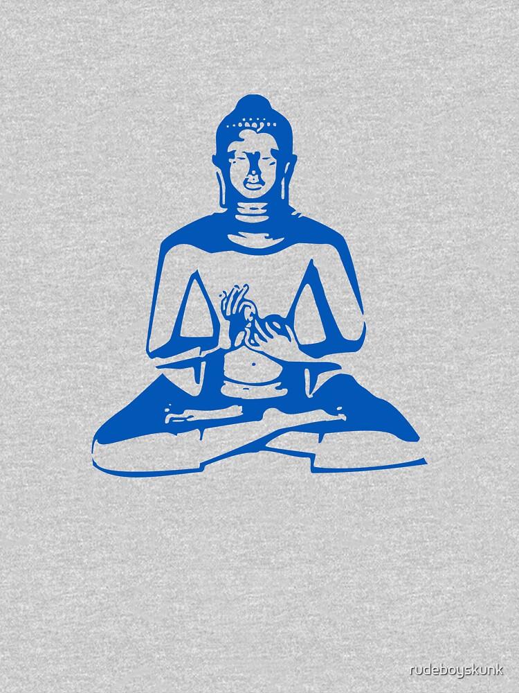 Buddha (Blue Print) by rudeboyskunk