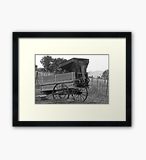 Utah Farming Equipment Framed Print