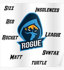 Rogue Rocket League Poster