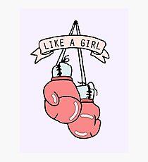 Like A Girl Photographic Print