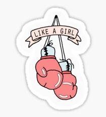 Like A Girl Sticker