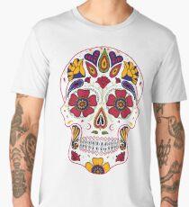 Day of the Dead Sugar Skull Dark Men's Premium T-Shirt