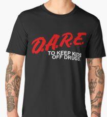 D.A.R.E - To Keep Kids Off Drugs - 1980's Men's Premium T-Shirt
