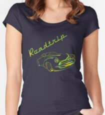 Roadtrip Women's Fitted Scoop T-Shirt