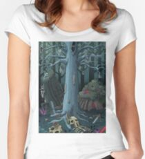 The fey tree Women's Fitted Scoop T-Shirt