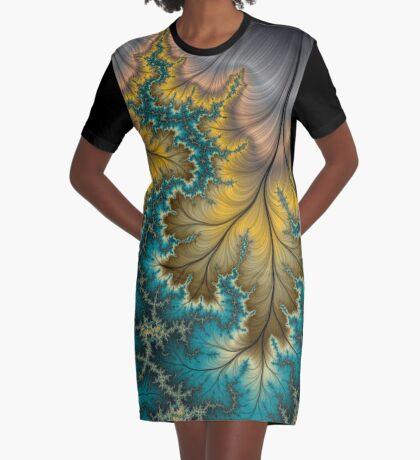 Autumn Strikes Graphic T-Shirt Dress