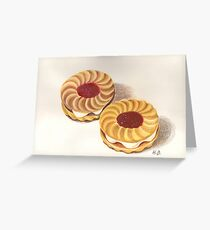 Jammy Dodgers Greeting Card