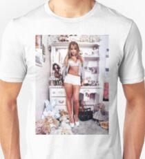 Britney BEDROOm white/ Rollingstone T-Shirt
