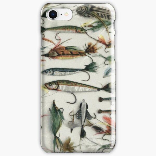 1920's Fishing Flies iPhone Snap Case