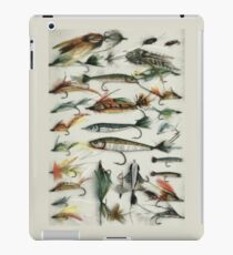 1920's Fishing Flies iPad Case/Skin