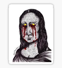 Misery Mona Sticker