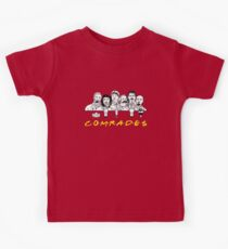 Communist Friends Comrades Kids Tee