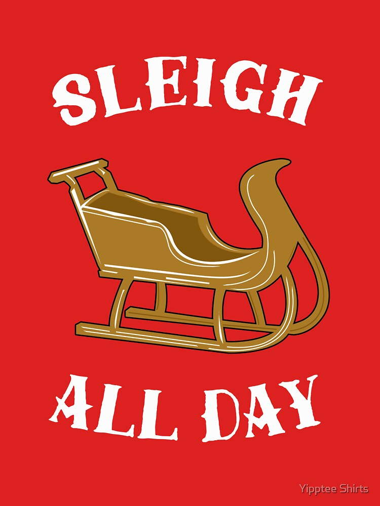 Sleigh All Day by dumbshirts