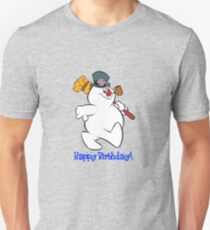 Frosty: Happy Birthday! Unisex T-Shirt