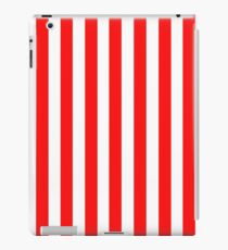 Red and White Striped Slimming Dress iPad Case/Skin