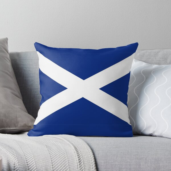 Scottish Independence Flag Scotland T-Shirt Throw Pillow