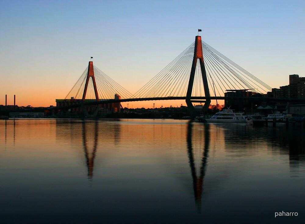 Early Morning Bridge by Peter Harrison