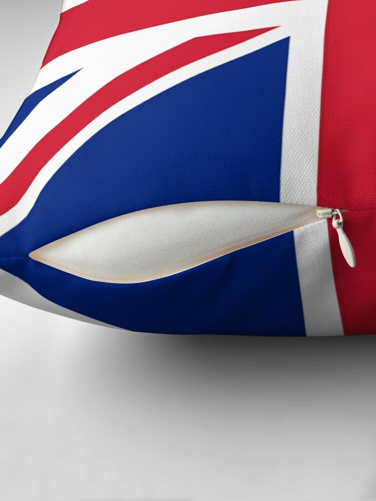 Alternative Ansicht von Union Jack 1960er Minirock - Best of British Flag Dekokissen