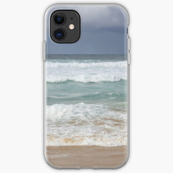 Beautiful Ocean Beach Dress iPhone Soft Case