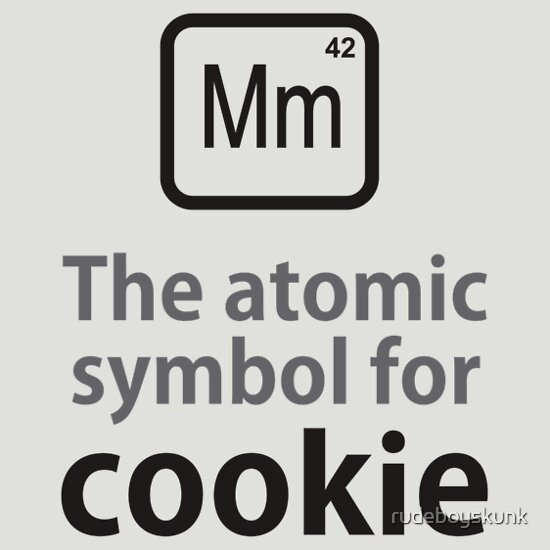 TShirtGifter presents: Atomic Symbol for Cookie