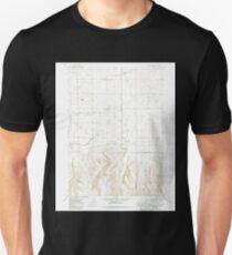 USGS TOPO Map Idaho ID Stricker Butte 238341 1979 24000 Unisex T-Shirt