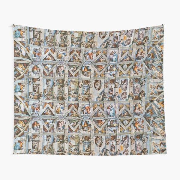 Michaelangelo - Sistine Chapel Ceiling Tapestry