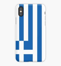 Greek National Flag T-Shirt - Greece Sticker iPhone Case/Skin