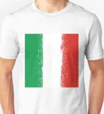 Flag of Italy. Italian Flag Pattern. Grunge Italy Flag T-Shirt