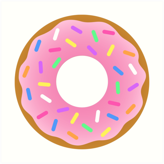Donut The Simpsons By Edleon