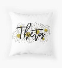Theta Throw Pillow