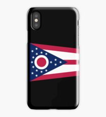 Ohio Columbus USA State Flag Bedspread T-Shirt Sticker iPhone Case/Skin