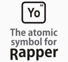 Atomic Symbol for Rapper