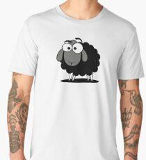 Black Sheep Cartoon Funny T-Shirt Sticker Duvet Cover Men's Premium T-Shirt