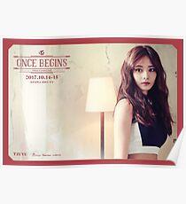 TWICE (트와이스) Once Begins - Tzuyu (쯔위) Poster