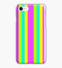 Neon Stripes iPhone Case/Skin