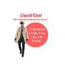 Liquid Cool Welcome Red Circle Art by Austin Dragon