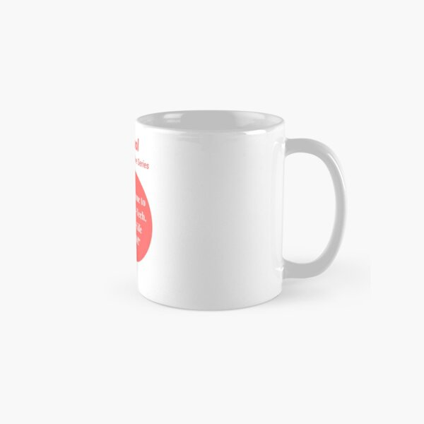 Liquid Cool Welcome Red Circle Art Classic Mug