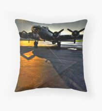 No Mission Tonight Throw Pillow