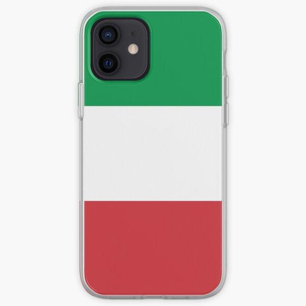 Italy Flag - Italian T-Shirt iPhone Soft Case