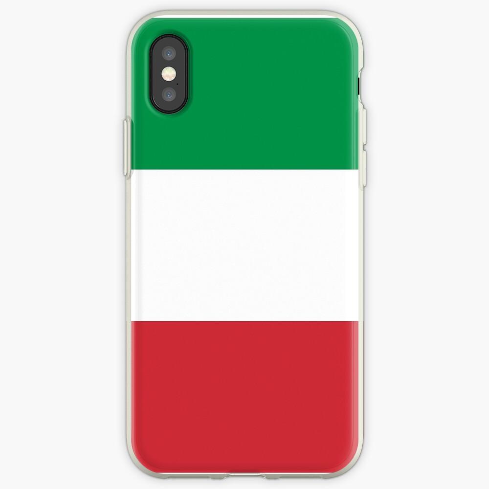 Bandera de Italia - Camiseta italiana Vinilos y fundas para iPhone