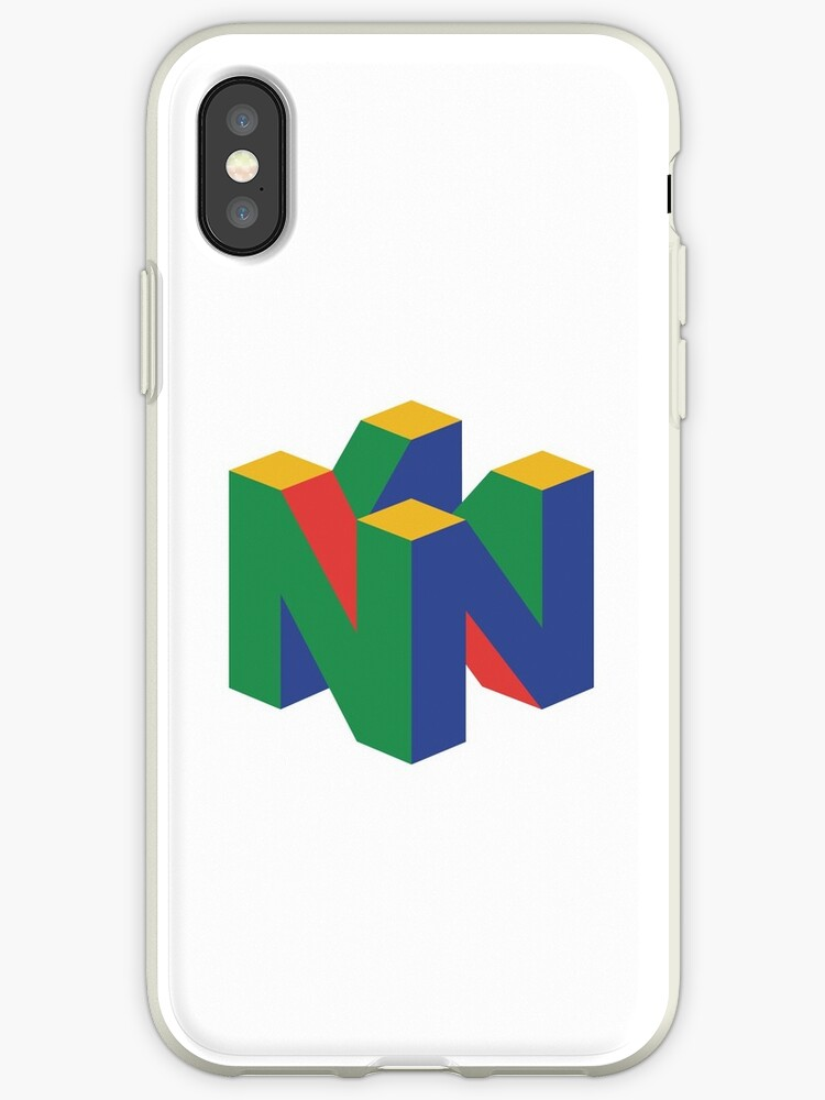 Nintendo 64 Logo Iphone Cases Covers By Unm3i Redbubble
