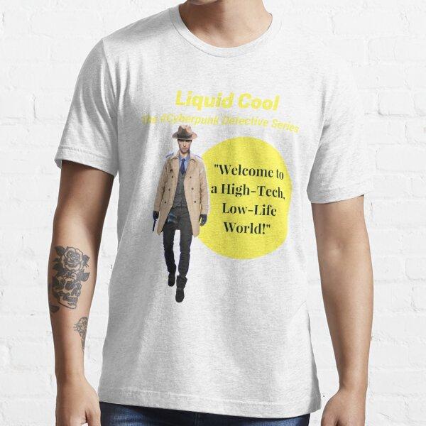 Liquid Cool Welcome Yellow Circle Art Essential T-Shirt