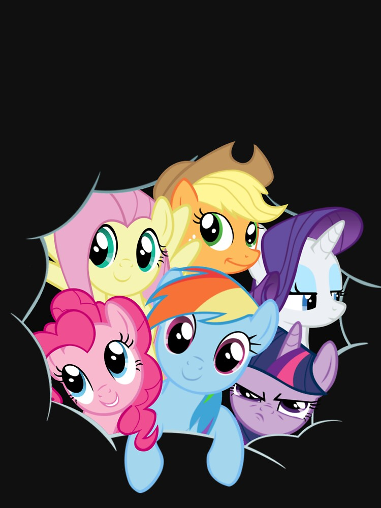 Mane Six Break Out! | Women's T-Shirt