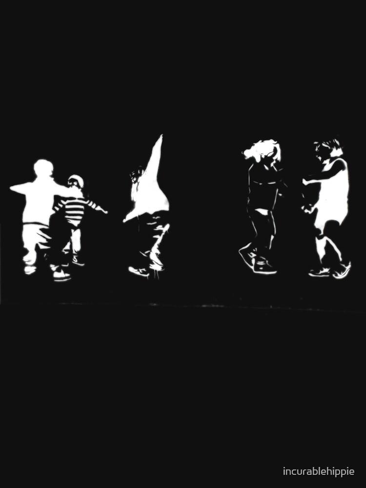 Children Playing On Dark by incurablehippie