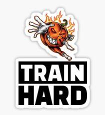 Foodietoon Halloween Havoc / Pumpkin / Train Hard Sticker