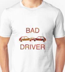 Bad Driver - Orange/Red T-Shirt