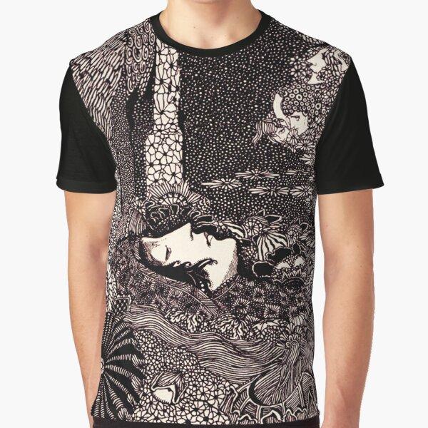 HD Sleeping Morella, from Edgar Allan Poe s Tales (1933) Graphic T-Shirt