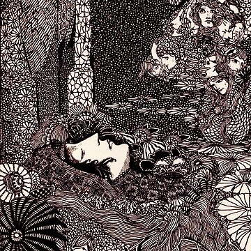HD Sleeping Morella, from Edgar Allan Poe s Tales (1933) by mindthecherry